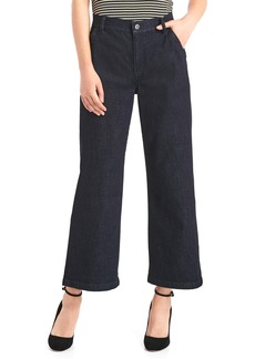 Gap High rise wide-leg crop jeans