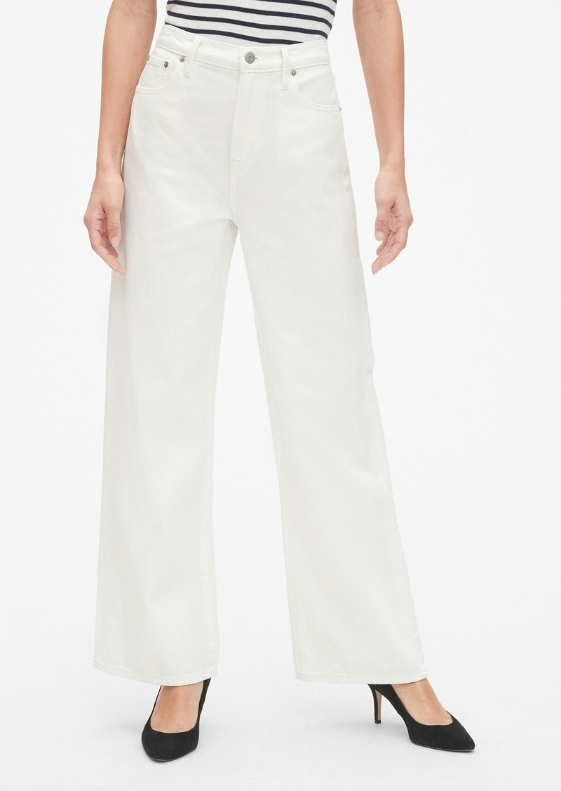 Gap High Rise Wide-Leg Jeans