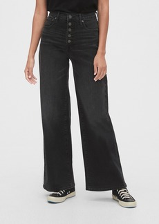 Gap High Rise Wide-Leg Jeans with Secret Smoothing Pockets