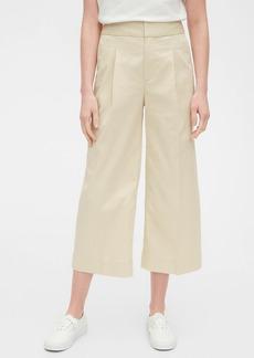 Gap High Rise Wide Leg Khaki Pants