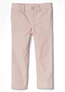 Gap High stretch glitter skinny cord jeans