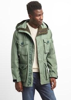 Gap Hooded Military Jacket