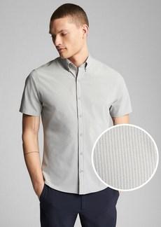 Gap Hybrid Short Sleeve Button-Down Shirt