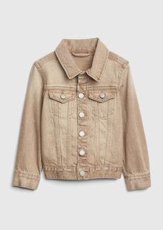 Gap Toddler Icon Khaki Denim Jacket