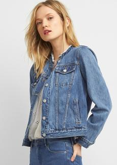 Icon raw collar denim jacket