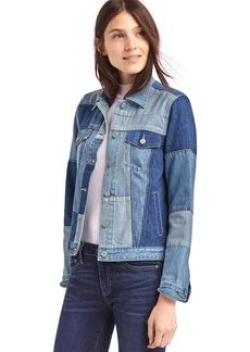 Iconic patchwork denim jacket