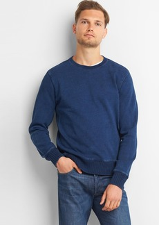 Gap Indigo crewneck pullover