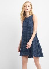 Gap Indigo print tie-back dress