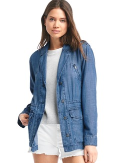 Gap Indigo TENCEL&#153 utility jacket