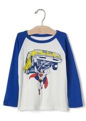 Gap Junk Food&#153 superhero baseball tee