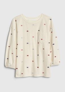 Gap Kids Balloon-Sleeve Pocket T-Shirt