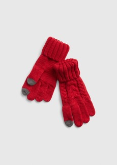 Gap Kids Cable-Knit Smartphone Gloves