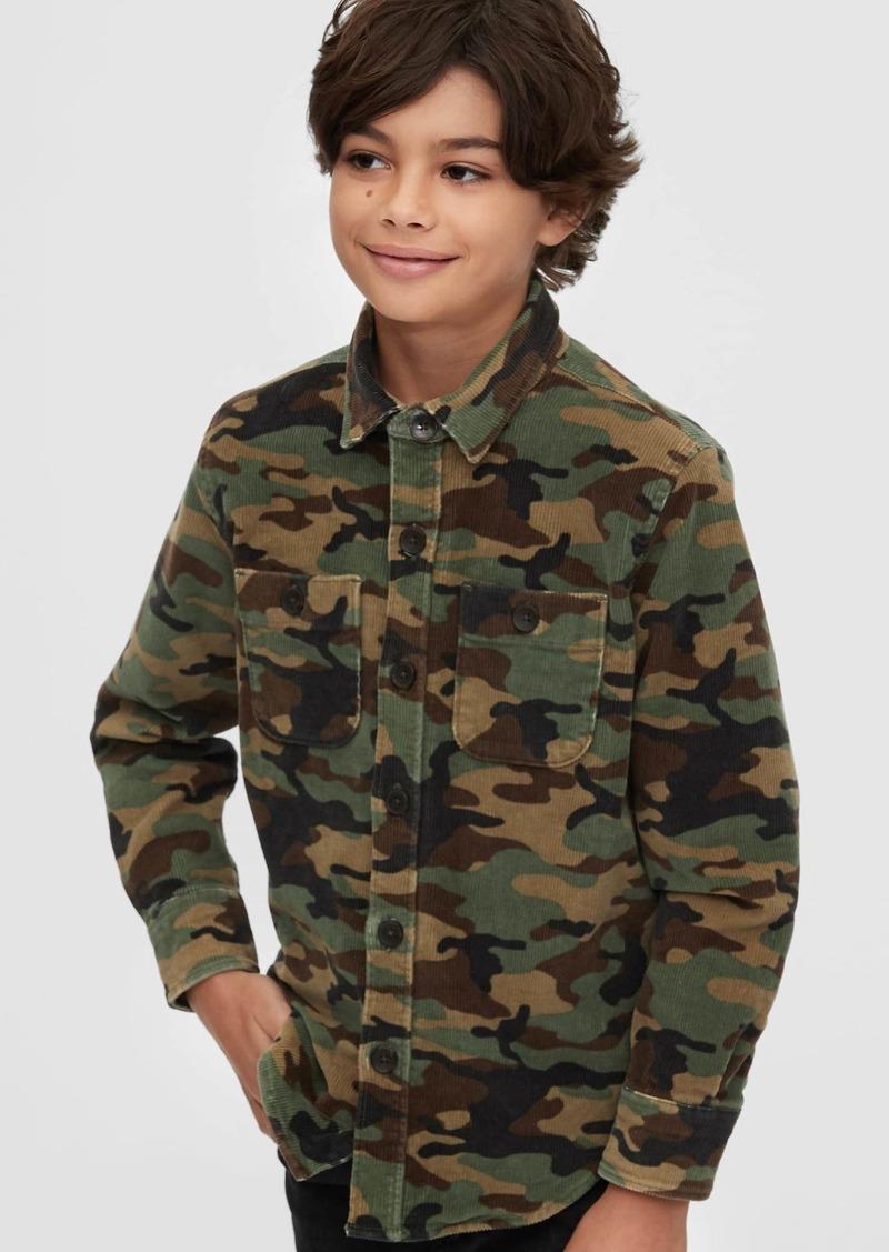 Gap Kids Camo Cord Chore Jacket