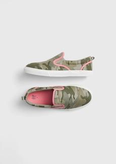 Gap Kids Camo Slip-On Sneakers