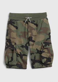 Gap Kids Cargo Pull-On Camo Shorts with Stretch
