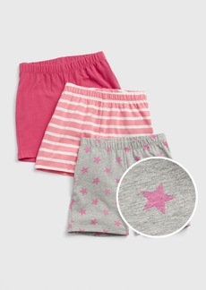 Gap Kids Cartwheel Shorts (3-Pack)