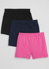 Gap Kids Cartwheel Shorts in Stretch Jersey (3-Pack)
