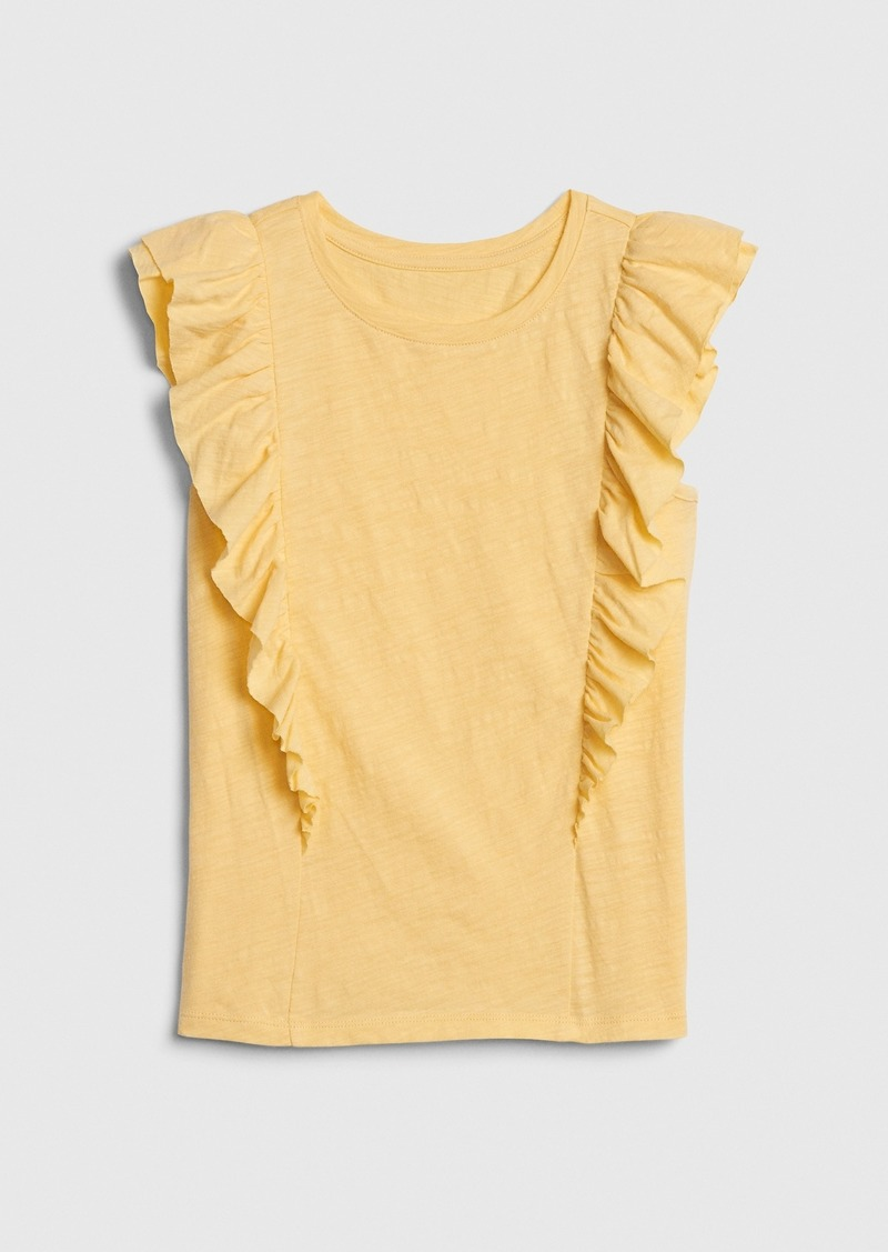 Gap Kids Cascade Ruffle T-Shirt