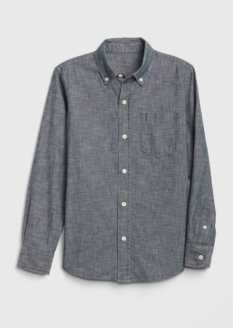 Gap Kids Chambray Shirt