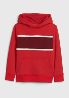 Gap Kids Chest-Stripe Hoodie Sweatshirt