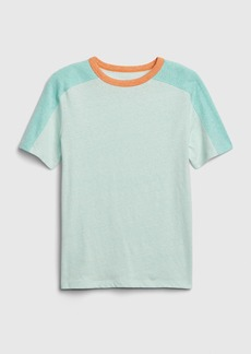 Gap Kids Colorblock Short Sleeve T-Shirt