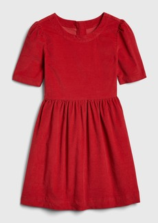 Gap Kids Cord Fit and Flare Dress