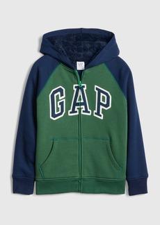 Kids Cozy-Lined Gap Logo Sweatshirt