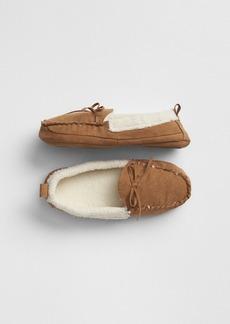 Gap Kids Cozy Moccasin Slippers
