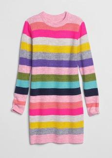 Gap Kids Crazy Stripe Sweater Dress