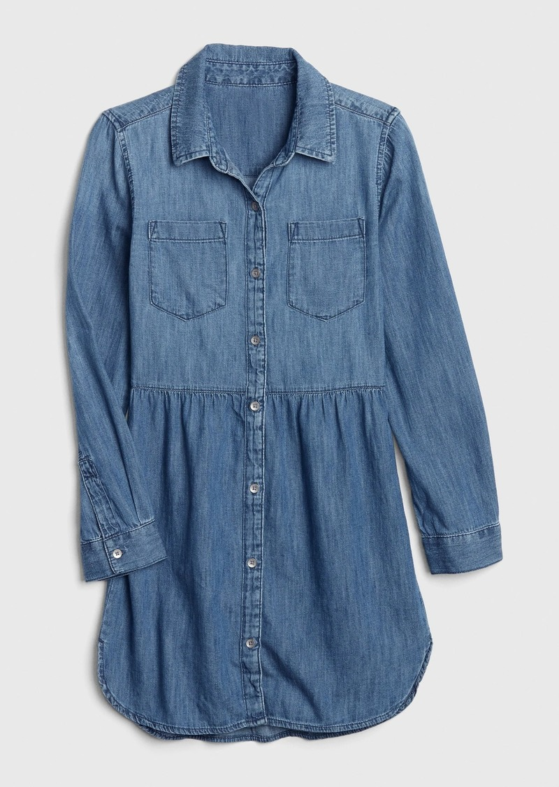 Gap Kids Denim Shirtdress