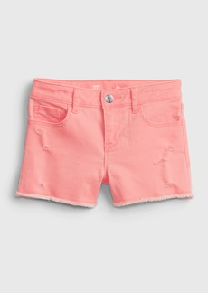 Gap Kids Denim Shortie Shorts with Stretch