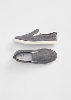 Gap Kids Denim Slip-On Sneakers