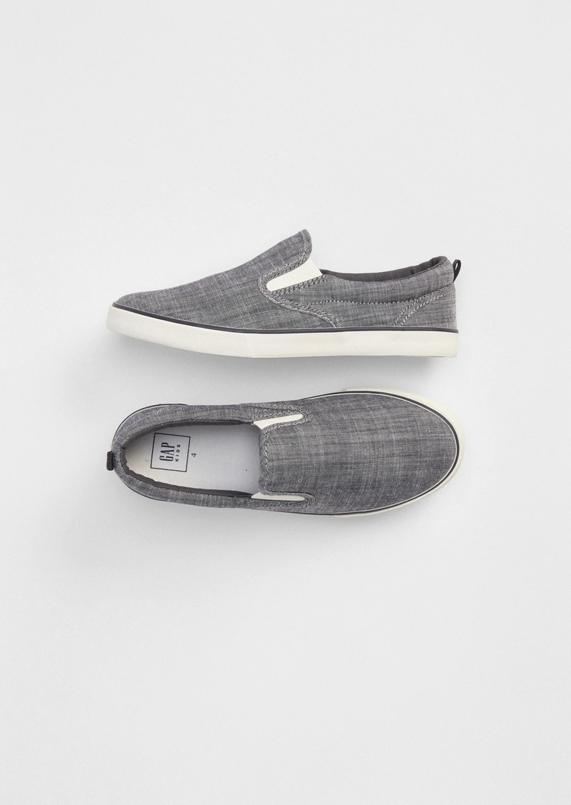 Gap Kids Denim Slip-On Sneakers