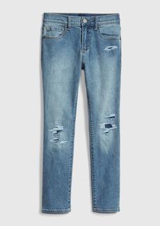 Gap Kids Destructed Skinny Jeans with Fantastiflex