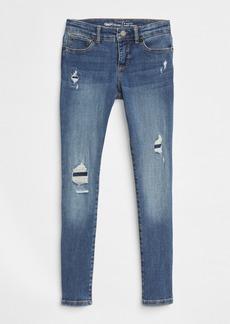 Gap Kids Destruction Super Skinny Jeans with Fantastiflex