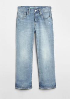 Gap Kids Distressed Boot Jeans with Fantastiflex