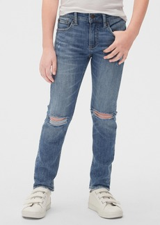 Gap Kids Distressed Skinny Jeans with Washwell&#153