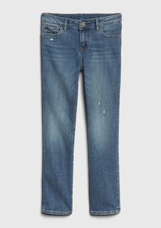 Gap Kids Distressed Straight Jeans with Fantastiflex