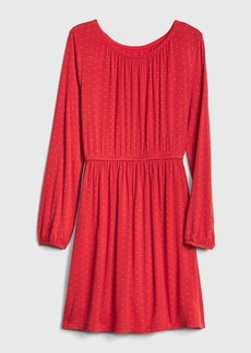 Gap Kids Dot Shirred Dress