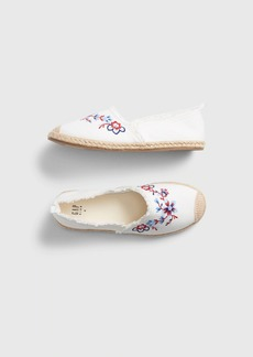 Gap Kids Embroidered Espadrille Flats