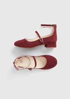 Gap Kids Faux-Suede Block Heels