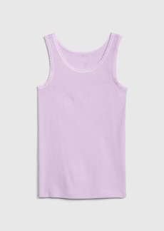 Gap Kids Favorite Lace Trim Tank