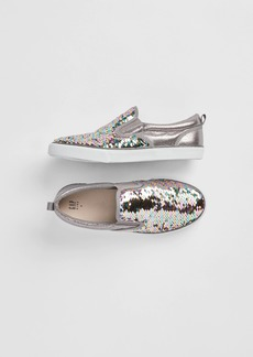 Gap Kids Fippy Sequin Slip-On Sneakers