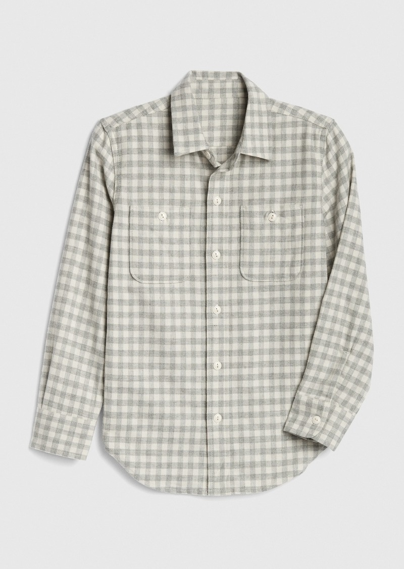 Gap Kids Flannel Shirt