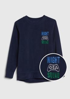 Gap Kids Fleece Graphic PJ T-Shirt