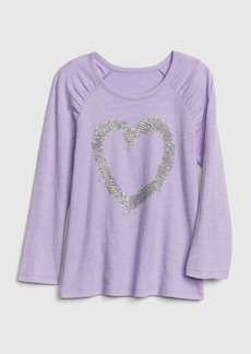 Gap Kids Flippy Sequin Graphic T-Shirt