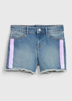 Gap Kids Flippy Sequin Midi Shorts