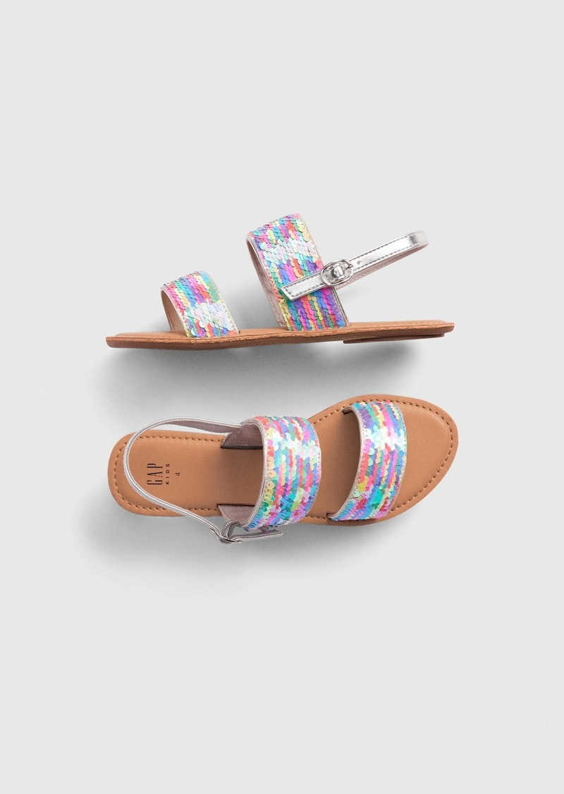 Gap Kids Flippy Sequin Sandals