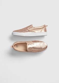 Gap Kids Flippy Sequin Slip-On Sneakers