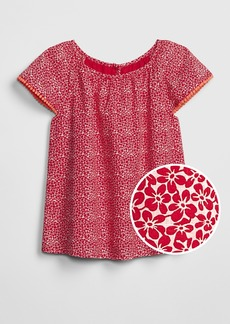 Gap Kids Floral Flutter Top